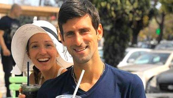 Nole y su esposa Jelena le ganaron partida a COVID-19