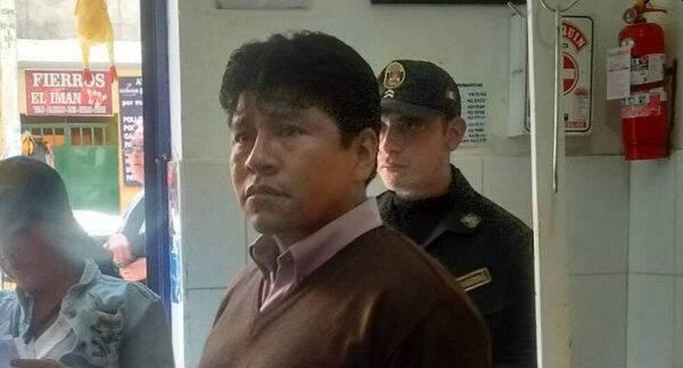 El exregidor de la comuna de Huaraz, Percy Sánchez, fue recluido en el penal Víctor Pérez Liendo (Foto: Martín Inchicaque)