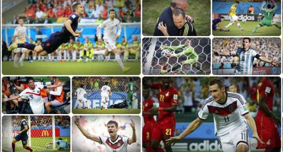Diez momentos que no podrás olvidar del Mundial Brasil 2014