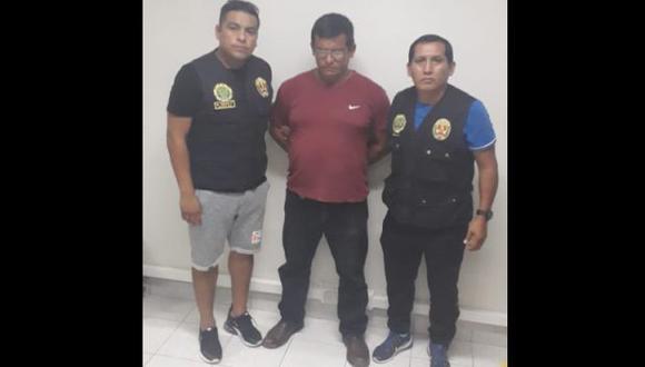 Tumbes: capturan a Carlos Aldave, acusado de contratar sicarios para asesinar a Luis Choy