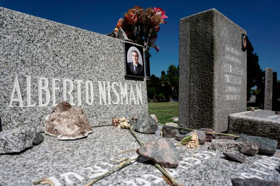 La justicia argentina confirmó en 2018 que Nisman fue asesinado. Foto: Getty images, vpia BBC Mundo