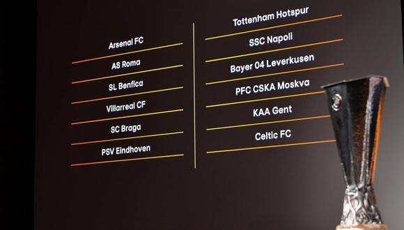 Asi quedaron los grupos de Europa League. (Foto: Reuters)