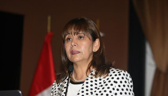 Tolentino Gamarra, desde junio del 2018 hasta este último martes, ocupó el cargo de directora Ejecutiva del Programa Nacional Contra Violencia Familiar y Sexual del MIMP. (Foto: Andina)
