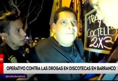 Barranco: detienen en operativo a sujeto implicado en microcomercialización de droga   VIDEO