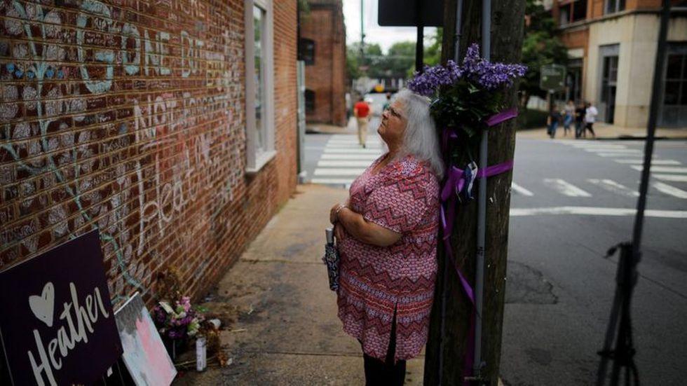 Susan Bro, la madre de Heather Heyer, no quiso hablar con Trump tras escuchar sus declaraciones sobre los disturbios. (Foto: Reuters)