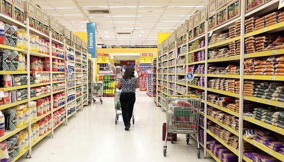 El personal ocupado en los supermercados creció 2.7% en promedio al año entre 2014 y 2018, según datos de Produce. (Foto: GEC)