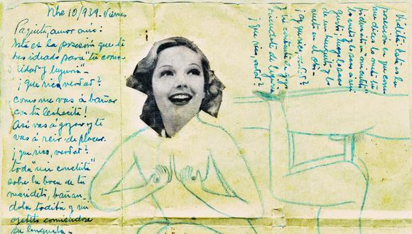 A partir de los negativos de 1940 hallados en La Cachina, la artista desarrolla un proyecto que incluye una mesa de documentos, instalación y libro-objeto.