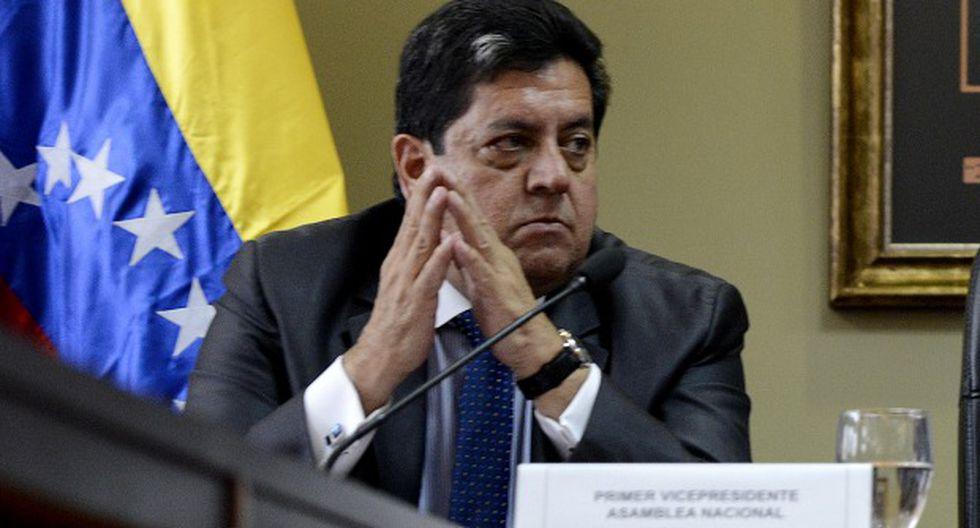 El vicepresidente de Parlamento venezolano, Édgar Zambrano, está con paradero desconocido. (Foto: AFP)