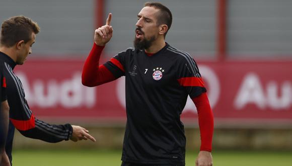 """Ribéry ante posible fichaje de Reus: """"Todavía estoy aquí"""""""