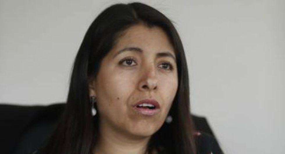 Amalia Moreno asumió la dirección de la ARCC en octubre pasado. Es la cuarta jefa que pasa por esta entidad. (Foto: César Campos)