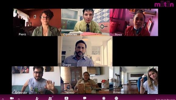 """Miitiin"", serie web peruana sobre el home office por cuarentena. (Foto: Difiusión: Miitiin)"