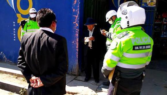 Junín: policía frustra fiesta patronal y detiene a tres personas en Huancayo (Foto difusión).