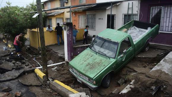 Tormenta Dolly golpea las costas mexicanas del Atlántico