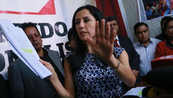Nadine Heredia tiene hasta el 5 de diciembre para regresar al país, según una orden que dictó el juez Carhuancho. (Foto: Miguel Bellido/ Archivo El Comercio)