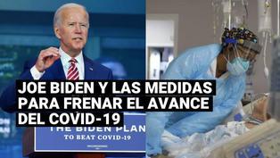 Las medidas de Joe Biden para frenar los contagios de coronavirus en EE.UU.