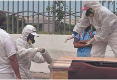 Sullana: Beneficencia habilita nichos de concreto para fallecidos por COVID-19