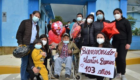 El veterano participo en la guerra de 1941 contra Ecuador, asimismo, logró superar otras enfermedades como la viruela y el paludismo (Foto: Diresa Cajamarca)