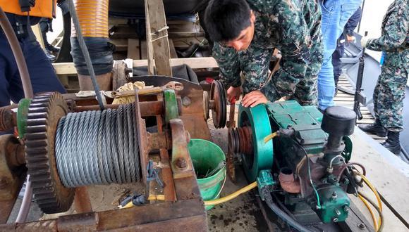 Las autoridades procedieron con el decomiso de los equipos usados por los mineros ilegales. (Foto: Fiscalía Provincial de Prevención del Delito de Tambopata)