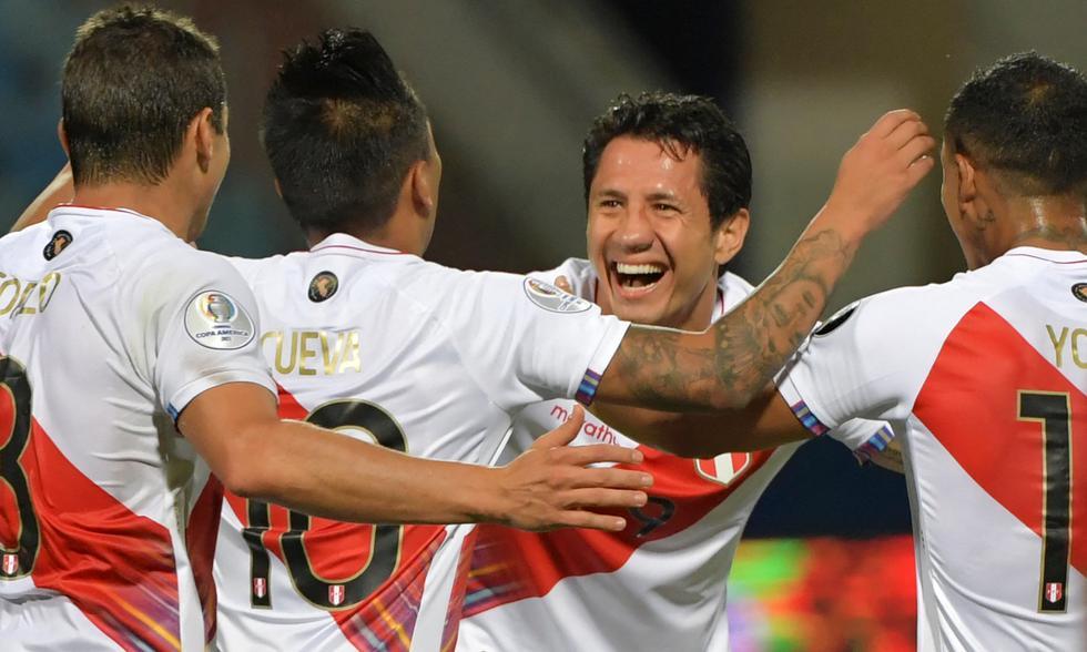 Perú y Paraguay chocaron por los cuartos de final de la Copa América 2021   Foto: AFP