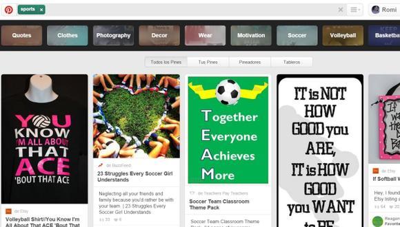 Pinterest continúa su búsqueda por atraer al público masculino