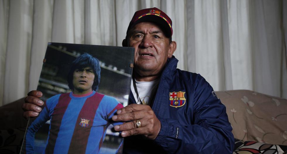 Hugo Sotil jugó en el FC Barcelona 1973 y 1977. Consiguió salir campeón en la Liga española de la temporada 1973-1974. (Foto: El Comecio)