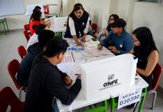 Elecciones 2021: En diciembre se podrá elegir el local de votación, informa la ONPE