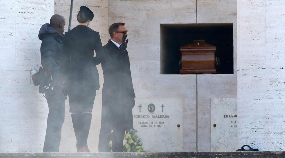 James Bond: Daniel Craig y Monica Belluci graban  en Roma - 4