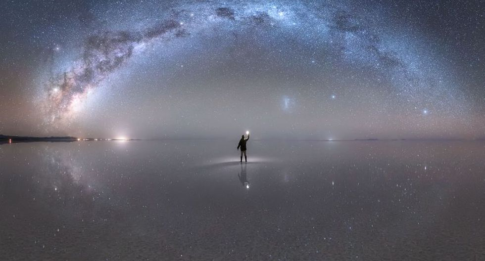 El joven huaracino que le tomó una foto a la Vía Láctea y fue premiado por la NASA. Foto: Jheison Huerta.