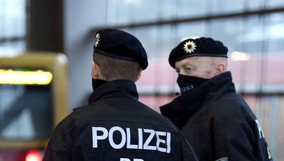La policía alemana logró reducir al atacante. (Foto referencial: Reuters)