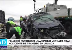 Juan Pablo Vergara, jugador de Binacional, falleció tras secuelas de accidente automovilístico