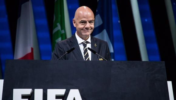 El Congreso de la FIFA aprobó que Infantino, que no contaba con rivales por la presidencia, fuera reelegido por aclamación, aceptando una recomendación tomada por el Consejo de la institución. (Foto: EFE)