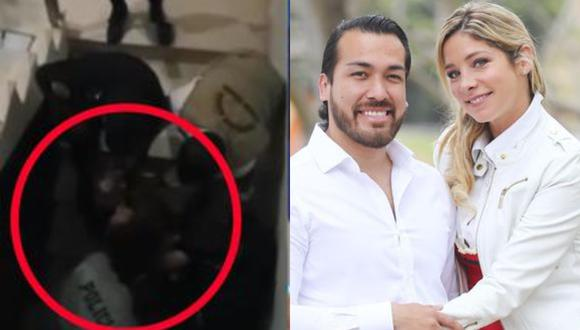 Sofia Franco y Álvaro Paz de la Barra se han visto envueltos en hechos de violencia en los último días. (Foto: Captura de video/GEC)