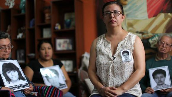 """""""Ojalá que (el Papa) tenga gestos de solidaridad con las víctimas"""", indicó Gisella Ortiz. (Foto: AFP)"""