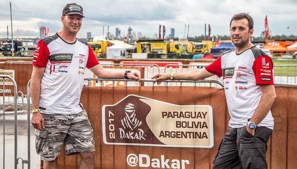 Dakar 2017: Fuchs sigue escalando en el tercer día