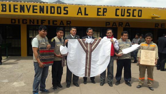 Papa Francisco en Perú: este es el regalo hecho por internos de penal de Cusco. (Foto: INPE)