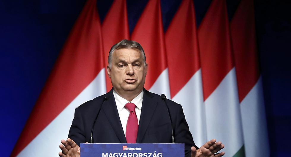 """El primer ministro de Hungría, Viktor Orban, se califica un """"demócrata iliberal"""" y se erige como el defensor de los valores cristianos y culturales de Europa del este.  REUTERS/Bernadett Szabo"""