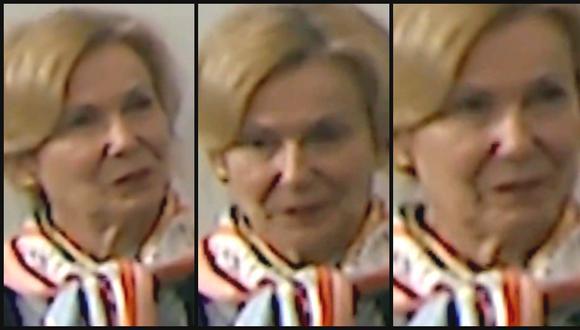 """La cara de la coordinadora sanitaria de Trump, Deborah Birx,  al escuchar su solución de """"inyección de desinfectante"""" para el coronavirus. Foto: Captura de video"""