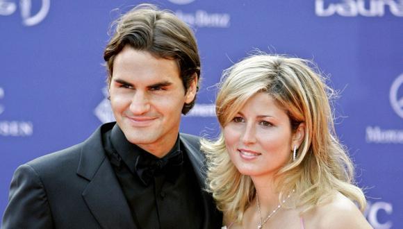 Roger Federer volvió a ser padre de mellizos