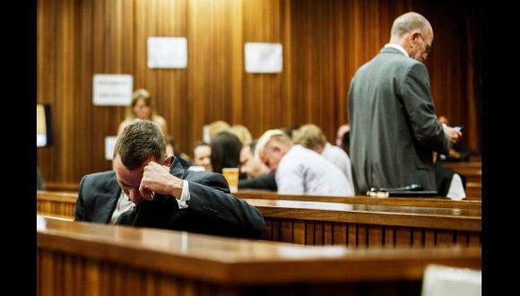 Pistorius lloraba el 80% del tiempo tras la muerte de Reeva