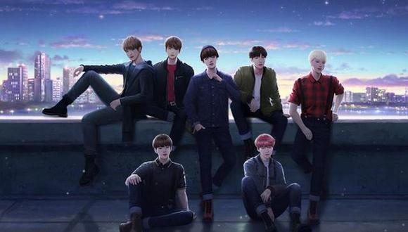 BTS Universe Story es el nuevo videojuego para celulares del popular grupo de K-pop BTS.(Foto: @BUSgameOfficial / Twitter)