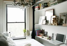 Este dormitorio de 7 m2 nos enseña a ahorrar espacio | FOTOS