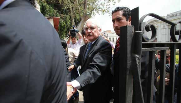 Cervantes Liñán llama 'garcilasinos' a quienes serían sus contactos en las altas esferas parlamentarias y judiciales. (USI)