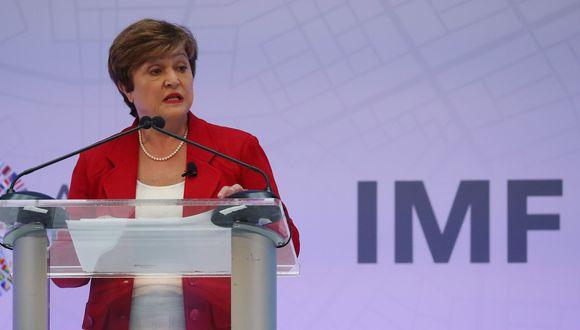 Kristalina Georgieva, jefa del FMI. (Foto: AFP)