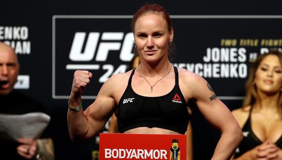 Shevchenko gobierna su división desde diciembre del 2018, cuando que se impuso a Joanna Jedrzejczyk en UFC 231. (Foto: AFP)