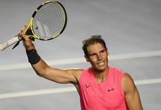 Rafael Nadal entrena en Italia para volver después de seis meses en el Masters 1000 de Roma