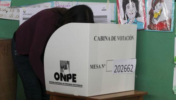 ONPE: ¿qué no se puede llevar a la cabina de votación?