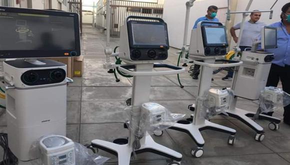 Ica: Hospital Regional de Ica adquiere cuatro ventiladores mecánicos e implementará Laboratorio Referencia para hacer frente al coronavirus. (Foto Hospital Regional Ica)