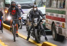 Más de 1.000 conductores fueron multados por invadir y obstruir ciclovías en Lima
