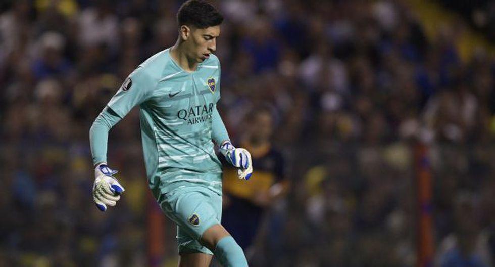 Esteban Andrada es jugador de Boca Juniors desde agosto del 2018. (Foto: AFP)