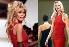 Claudia Schiffer cumple 50 años: 10 momentos en pasarela que la consagraron como diva y top model   FOTOS